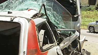 Homem morre em acidente na BR-381, no Leste de Minas - Vítima tinha 39 anos.