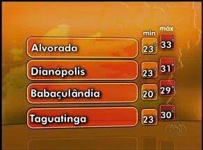 Confira como será o clima no Tocantins nesta quarta-feira (21) - Confira como será o clima no Tocantins nesta quarta-feira (21)