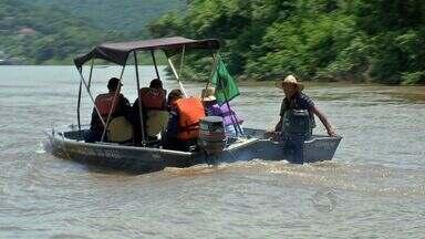 Marinha fiscaliza canoas e barcos nos rios de Cuiabá - Marinha fiscaliza canoas e barcos nos rios de Cuiabá