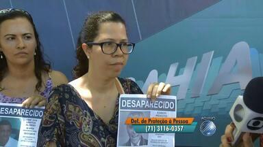 Confira o quadro 'Desaparecidos' desta quarta-feira (21) - Amigos e familiares vão até a Praça da Piedade em busca de notícias de entes queridos.