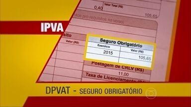 IPVA pago? Não esqueça das outras taxas do veículo - IPVA e seguro obrigatório precisam ser pagos juntos no começo o ano. Licenciamento pode ser quitado depois de acordo com a placa do veículo.