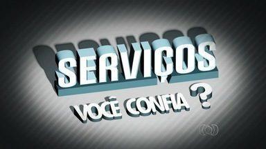 JA1 exibe série de reportagens sobre a confiança na prestação de serviços em Goiás - Reportagem avaliou o profissionalismo de pessoas que trabalham em diversas áreas.