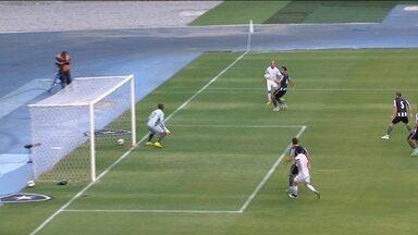 Botafogo volta a jogar no Engenhão depois de dois anos de interdição - Time enfrentou o Shandong Luneng em amistoso apenas para convidados.