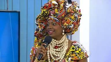 Bloco afro Ilê Aiyê escolhe a Deusa do Ébano 2015 - Conheça a vencedora.