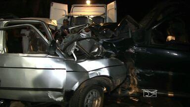 Em Caxias, quatro pessoas morreram em acidentes no fim de semana - Três acidentes foram registrados na MA-127.