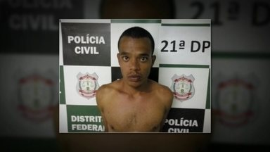Polícia prende jovem acusado de matar agente penitenciário em Taguatinga - João Paulo Alves Peixoto, de 18 anos, estava escondido na casa de uma tia em Ceilândia. Agora, a polícia procura pelo comparsa do rapaz. Eles vão responder por roubo seguido de morte.