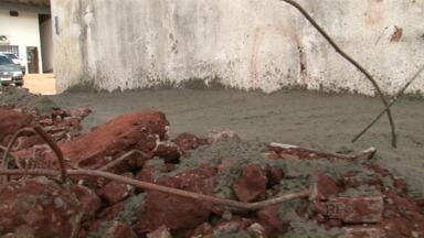 Concluída obra para fechar túnel na cadeia de Umuarama - Dois presos conseguiram fugir.