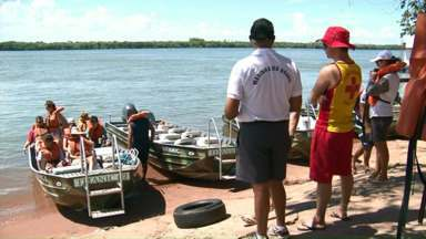 Marinha e Corpo de Bombeiros fiscalizam embarcações em Porto Rico - O trabalho é para garantir mais segurança aos visitantes.