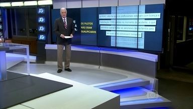 Aeronáutica apresenta relatório sobre acidente que matou Eduardo Campos - Piloto e copiloto não teriam treinamento para modelo do Cesna 560. Aeronave caiu no dia 13 de agosto e matou o candidato Eduardo Campos.