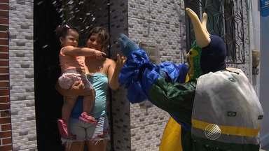Moradores do bairro do Uruguai curtem um pré-carnaval no ritmo da jega e do jegue - Conheça a festa.