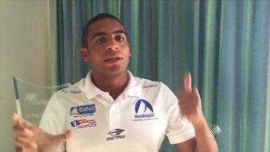 Nadador Allan do Carmo começa a temporada com pódio em maratona na Argentina - Atleta mandou recado para os fãs; veja.