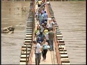 Interdição da ponte de acesso a Almenara completa um mês - Neste período, os comerciantes da cidade afirma que têm vivido dias ruins.