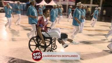Enquete EMME: Cadeirantes - A superação de quem, mesmo com deficiência física, não perde a animação e dá exemplo.