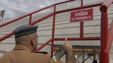 Corpo de Bombeiros realiza segunda vistoria no Sambódromo - Corpo de Bombeiros realiza segunda vistoria no Sambódromo