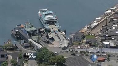 Sistema ferry boat tem movimentação intensa por causa do carnaval - Neste período, o número de passageiros chega a 343 mil, e mais de 56 mil veículos.