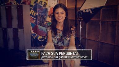 02/03 - Bruna Hamú anuncia #PapoReto com ela e Isabella Santoni - Não perca a interatividade no Malhação no Ar