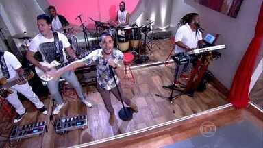 Jamil e Uma Noites abre o 'Encontro' - Muita música para animar os convidados
