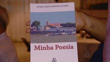Professora lança de poesias em Manaus - Publicação retrata vida literária da educadora.