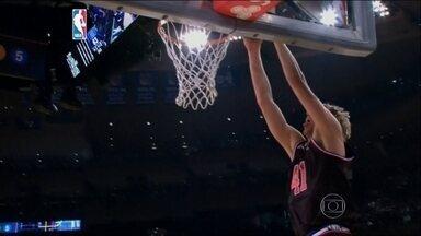 Jogo das Estrelas reúne melhores jogadores da NBA - Time do Leste venceu Oeste por 163 a 158.