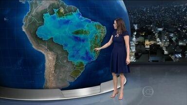 Previsão é de chuva em grande parte do Brasil na terça-feira (17) - A previsão é de chuva em grande parte do Brasil na terça-feira (17).