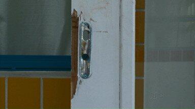 Dois menores invadem, roubam e depredam creche em Paranavaí - Os dois menores já haviam participados de atos de vandalismo na creche há duas semanas.