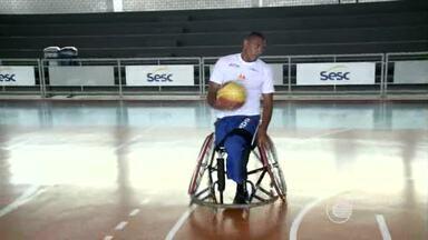 Piauiense vai jogar em um dos clubes mais tradicionais de basquete em cadeira de rodas - Piauiense vai jogar em um dos clubes mais tradicionais de basquete em cadeira de rodas