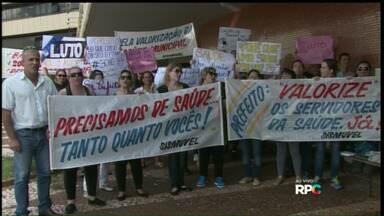 Servidores da saúde de Cascavel também entram em greve - Pelo menos 700 servidores estão paralisados.