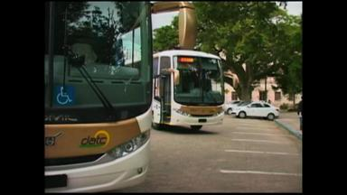 Viaturas são entregues pela prefeitura de Rio Grande, RS - Ônibus, ambulâncias, viaturas e uma retroescavadeira foram entregues.