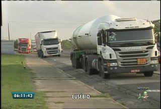 Movimentação na BR-116 é tranquila no Ceará - Motoristas aderiram a movimento nacional na terça-feira (24).