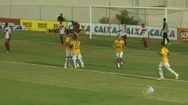 Jacuipense consegue mais um bom resultado contra o Serrano, em Porto Seguro - Veja como foi a partida.