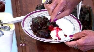 Delícia! Ana Maria ensina a fazer um Bolo Brownie - Essa prática receita é de dar água na boca