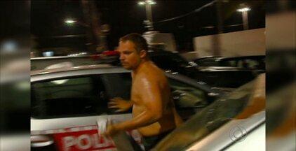 Policial é acusado de roubar 200 quilos de queijo em João Pessoa - O crime aconteceu na terça-feira, e o policial foi preso ontem à noite, após ser reconhecido pelas vítimas.