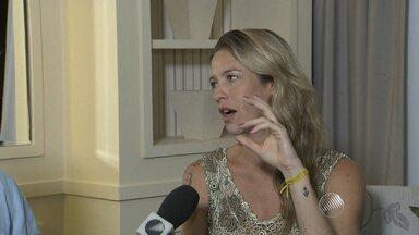 Luana Piovani fala sobre a peça 'Mania de Explicação', em cartaz na capital baiana - Confira a entrevista.