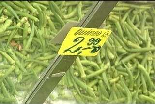 Segundo o IPC de fevereiro, os alimentos em Montes Claros estão mais caros - Tem alguns produtos que já não são mais encontrados no mercado.