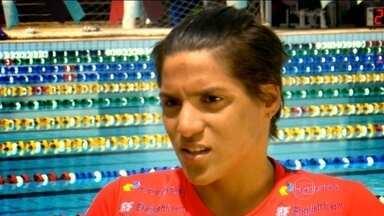 Atuais campeões mundiais de maratona aquática, brasileiros treinam para as Olimpíadas - Ana Marcela Cunha e Allan do Carmo são esperanças de medalhas para o Brasil em 2016.