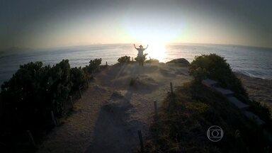 Confira o amanhecer em vários pontos do Rio de Janeiro - A cidade completou 450 anos no dia 1º de março.