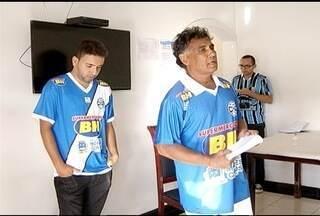 Didi Ferreira é apresentado como novo técnico do Montes Claros FC - Allam Kardeck foi demeitido após quatro jogos sem vencer.