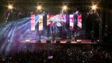 Festival Promessas reúne mais de 35 mil pessoas no ES - Foram oito horas de shows de música gospel.