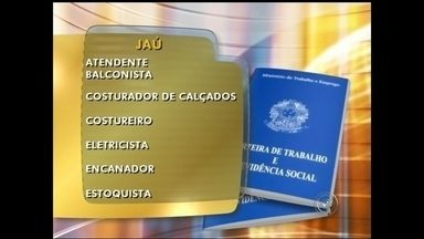 Confira as vagas de emprego em Jaú - O Bom Dia Cidade te ajuda a buscar um emprego ou uma nova colocação no mercado de trabalho. Confira as oportunidades em Jaú.
