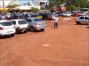 Funcionando há um mês, estacionamento rotativo gera polêmica em Palmas - Funcionando há um mês, estacionamento rotativo gera polêmica em Palmas