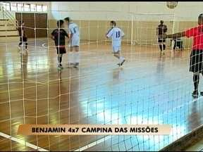 Jogos definem campeão da Super Taça RBS TV de Futsal - Os vencedores da taça RBS de três regiões definiram neste fim de semana o supercampeão.