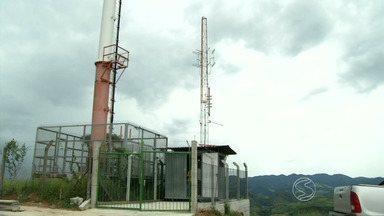 Vassouras recebe nova torre da TV Rio Sul - Equipamento de transmissão vai garantir mais qualidade do sinal