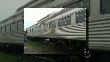 Miguel Pereira, RJ, terá trem para passeios turísticos - Obras pretendem revitalizar turismo através dos trilhos.