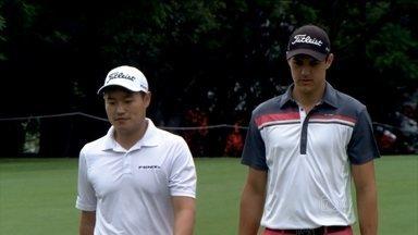 Jóias do golfe, Lucas Lee e Rafael Becker buscam vaga nas Olimpíadas de 2016 - Atletas comentam preparação e treinamentos da modalidade e falam sobre carreira no esporte.