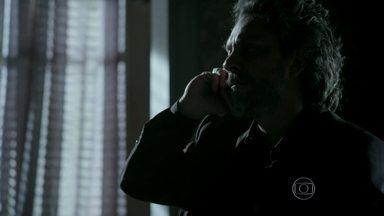 Império - capítulo de quinta-feira, dia 12/03/2015, na íntegra - José Alfredo sai em busca de Fabrício Melgaço