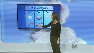 Confira a previsão do tempo no Sul de Minas para esta sexta-feira (13) - Confira a previsão do tempo no Sul de Minas para esta sexta-feira (13)