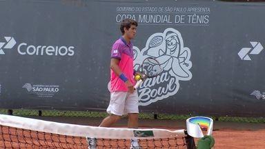 Banana Bowl é disputado em São José dos Campos - Igor Marcondes e Orlandinho Luz vencem os duelos e seguem no torneio juvenil de tênis.