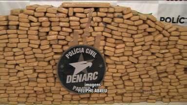 Denarc apreende a maior quantidade de drogas dos últimos nove anos - Dados da Divisão Estadual de Narcóticos (Denarc) dizem respeito às apreensões de janeiro e fevereiro deste ano.