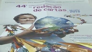 Inscrição de concurso internacional de cartas encerra no dia 17 - Inscrição de concurso internacional de cartas encerra no dia 17