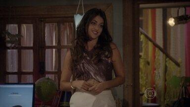 Jade conta a Pedro sua estratégia para reconquistar K - Ela sugere que o guitarrista irrite sua esquentadinha